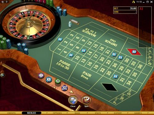 Nouvelle roulette au Parklane Casino