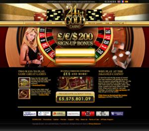 Bonus 24Gold Casino