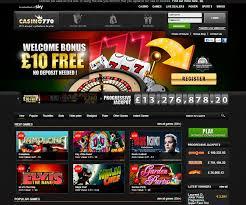 Bonus Casino 770