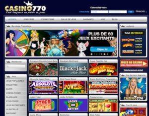 Jeux Casino 770